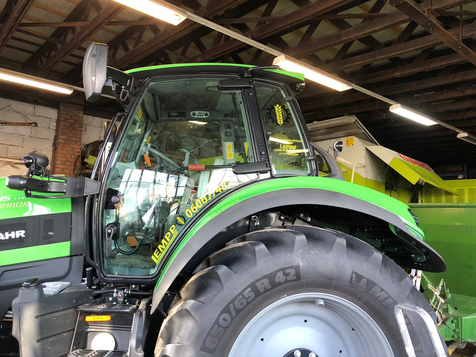 Neue CI für Landwirtschaftliches Lohnunternehmen